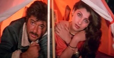 Tera Saath Hain Kitna Pyara Lyrics - Jaanbaaz (1986) | Anil Kapoor and Dimple Kapadia