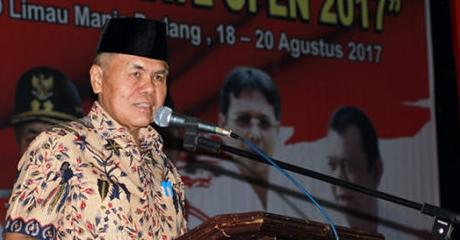 Tutup Padang City Karate Open 2017 se-Sumatera, Wawako: Dapat Dijadikan Alat Mengukur Diri
