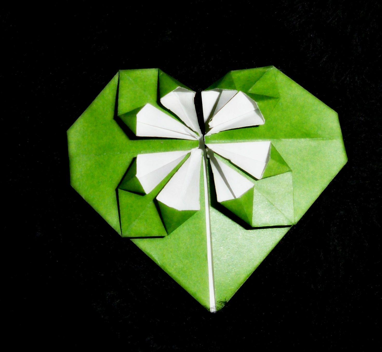 PaperBelle Origami: Fancy Valentine Heart Video Tutorial - photo#12