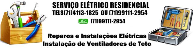 Instalação Elétrica Residencial em Salvador-BA