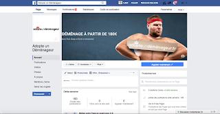Page Facebook : Adopte un Déménageur