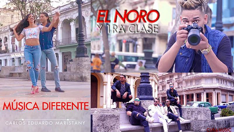 El Noro y 1ra Clase - ¨Música diferente¨ - Videoclip - Director: Carlos Eduardo Maristany. Portal Del Vídeo Clip Cubano