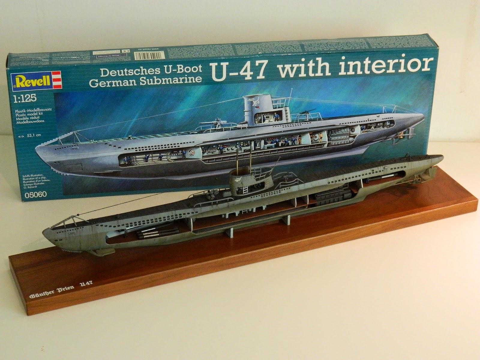 Mike S Modeling U 47 German U Boat 1