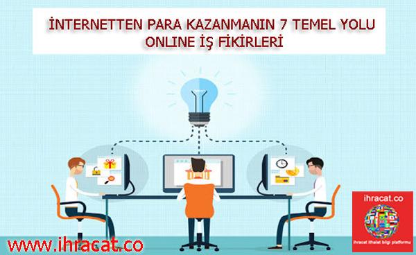 internetten pazar kazanmak, online iş fikirleri