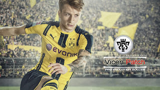 Vicen Patch PES 2013 (Teamporada 2016-2017) Datapack 6.00, Vers.1.03