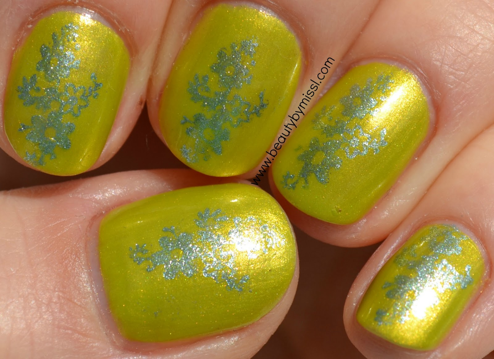 nails of the day, notd, stamping