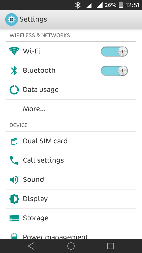 Lollipop Settings apk for Xperia C [MOD] By Karthik