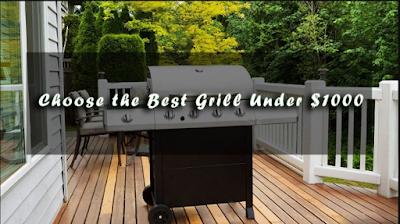Best Gas Grills Under $1000 (2018)
