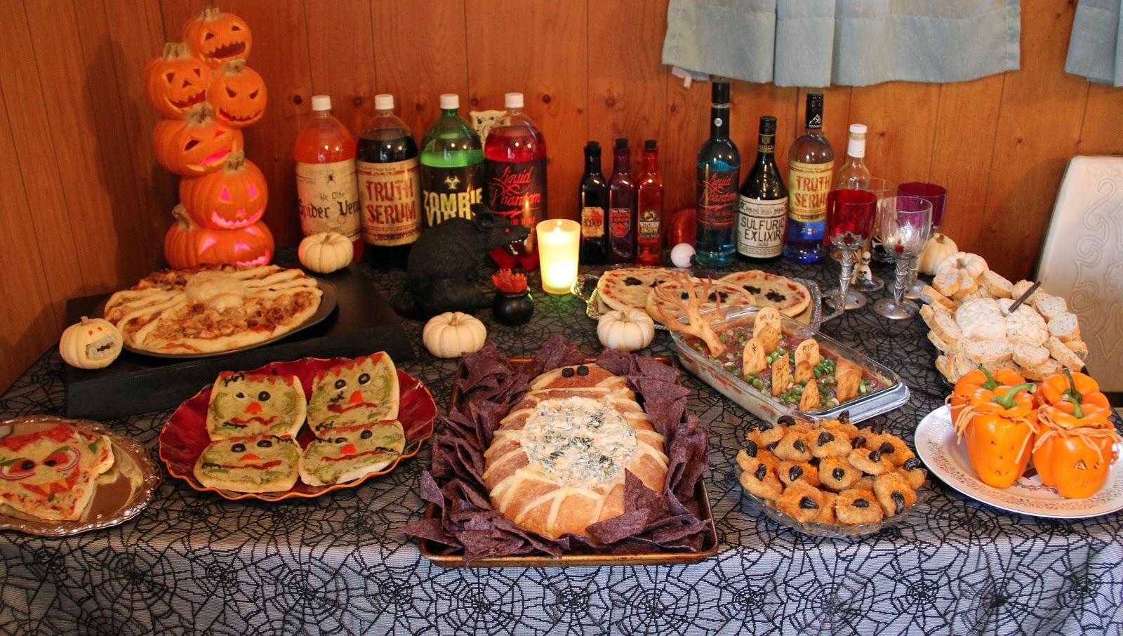 Jo and Sue: Halloween Dinner 2012