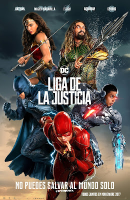 Justice League 2017 DVD9 NTSC Latino