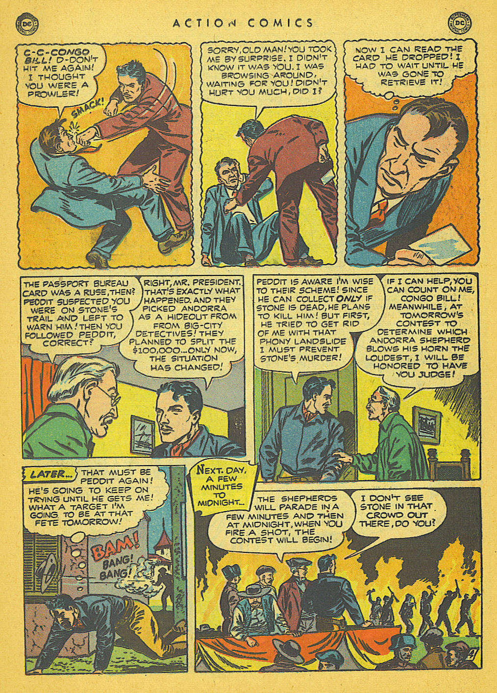 Read online Action Comics (1938) comic -  Issue #142 - 29