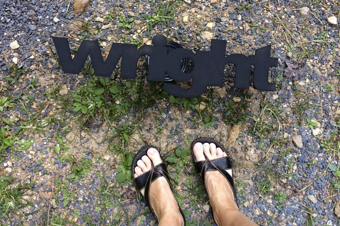 Chalkboard Letter Sign | iloveitallwithmonikawright.com