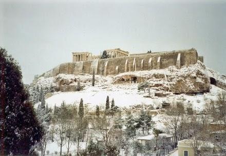 Πόσες φορές έπεσε χιόνι στην Αθήνα σε 112 χρόνια