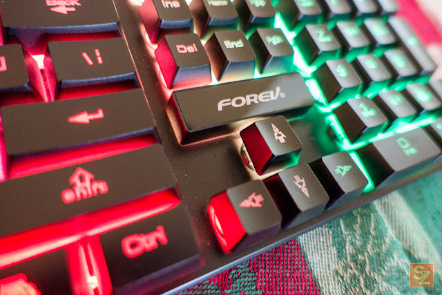 forev fv q1 3color backlight led lights mechanical gaming keyboard