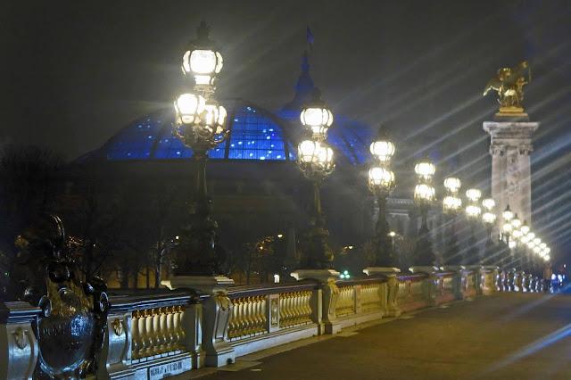 A little night walk...