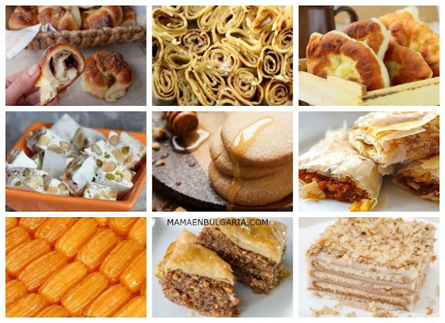 Dulces típicos de Bulgaria