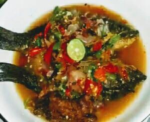 Resep pecak ikan mas