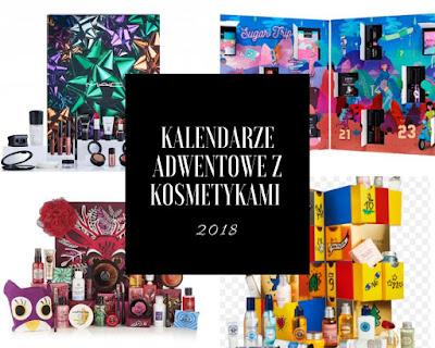 Kalendarze adwentowe z kosmetykami 2018