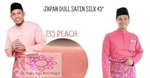 Kain Pasang Heavy/Japan Dull Satin Silk