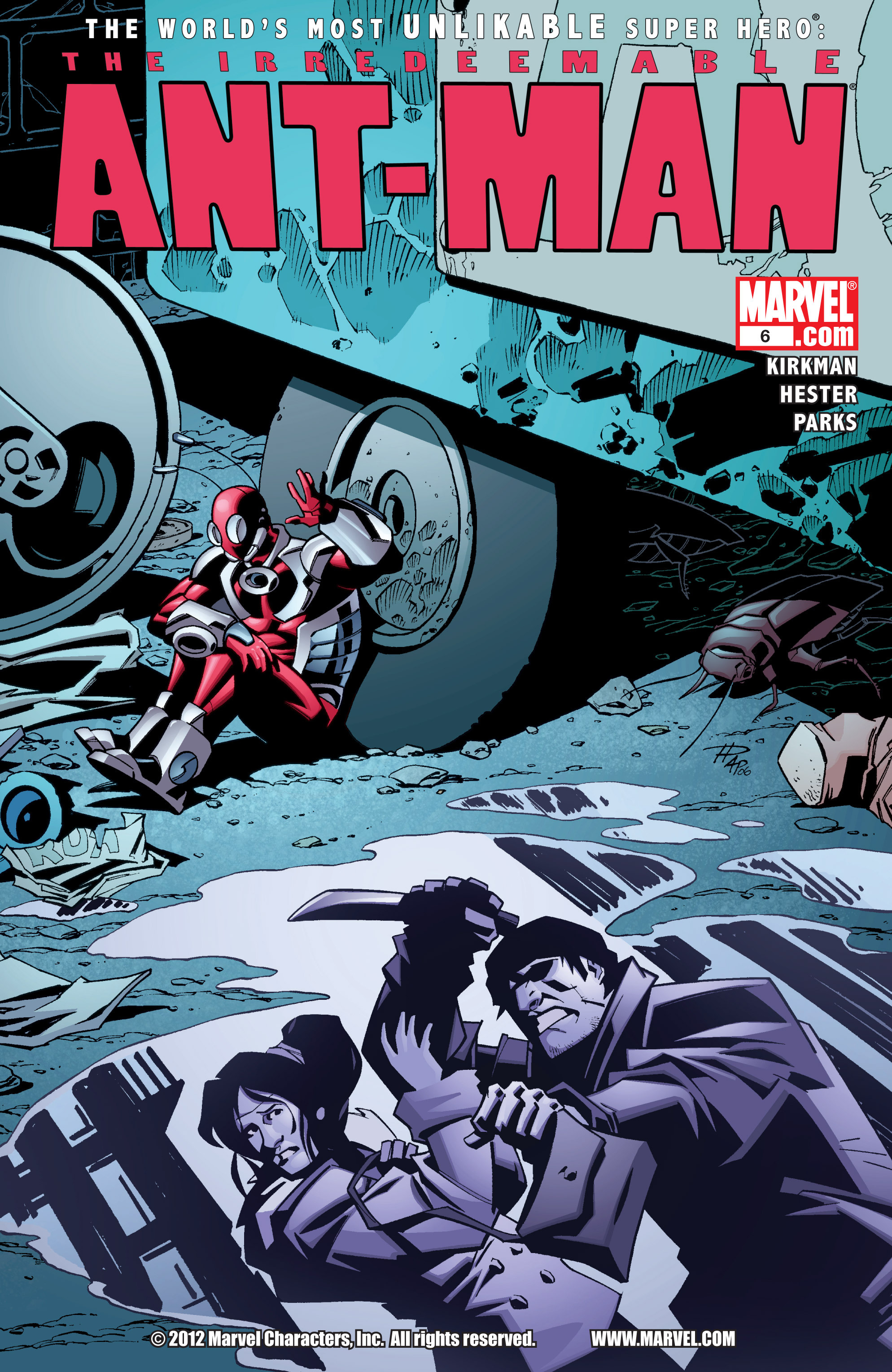 The Irredeemable Ant-Man 6 Page 1
