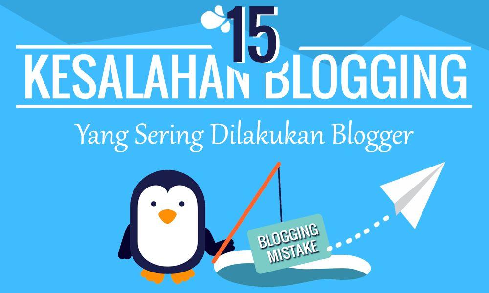 Kesalahan Blogger Pemula
