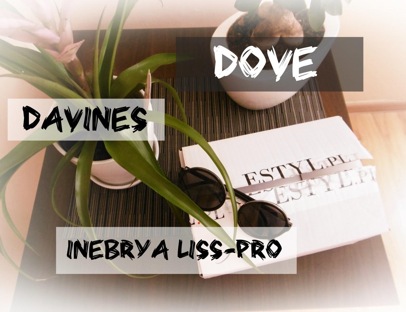 #3 OPENBOX DAVINES DOVE INEBRYA LISS-PRO