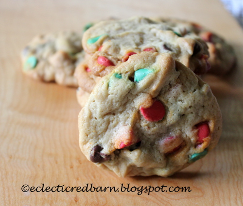 Chocolate Chip Cookies with Nestle Christmas Chips