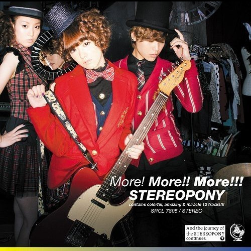 Stereopony - More!More!!More!!! [FLAC   MP3 320   DVD ISO]