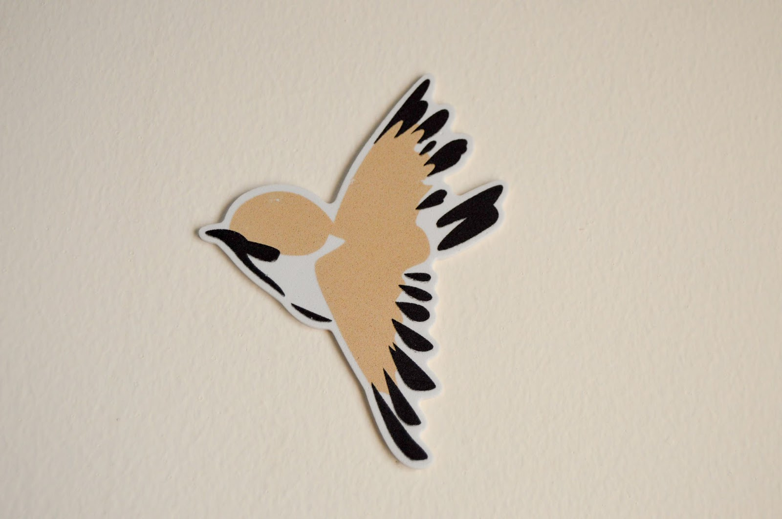 Flying Sparrow 3D Sticker Wallpaper free photos