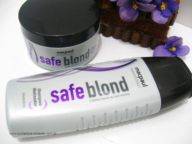 Shampoo Matizador Safe Blond MacPaul