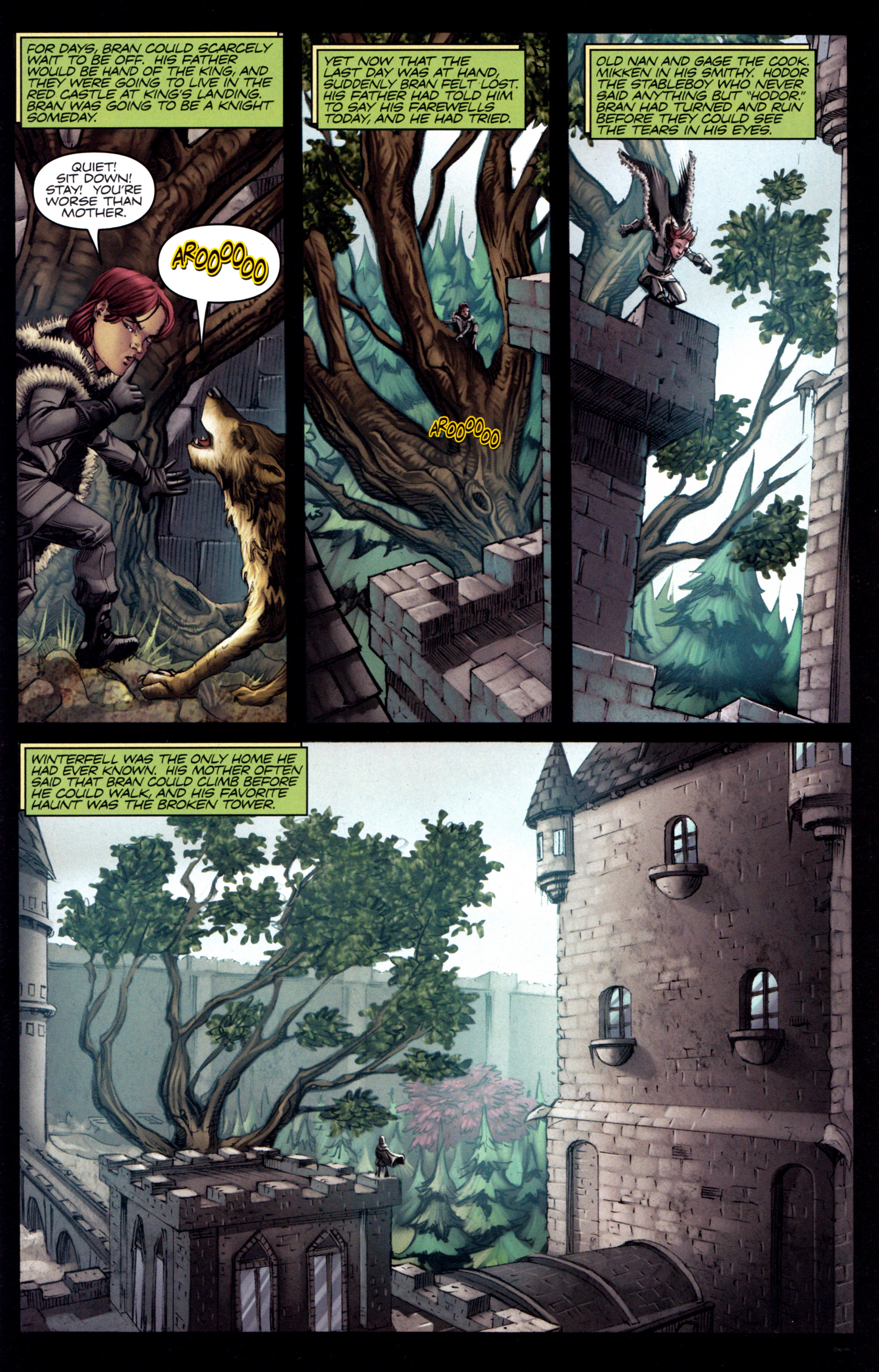 Read online A Game Of Thrones comic -  Issue #3 - 11