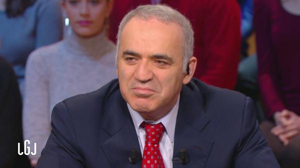 L'ancien champion du monde d'échecs Garry Kasparov