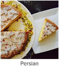 saffron and pistachio cake