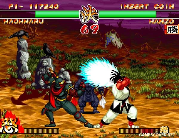 Samurai Shodown II Gameplay