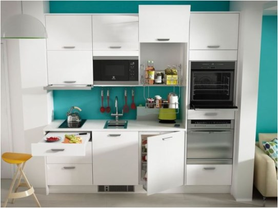 Compact Kitchen Cabinet