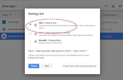 Cara Mengubah Link Google Drive Menjadi Link Public Download