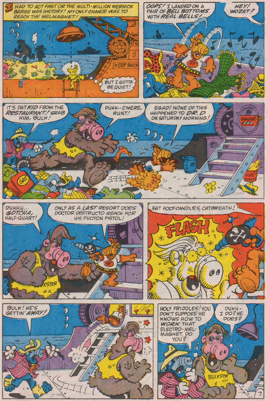 Read online ALF comic -  Issue #8 - 29