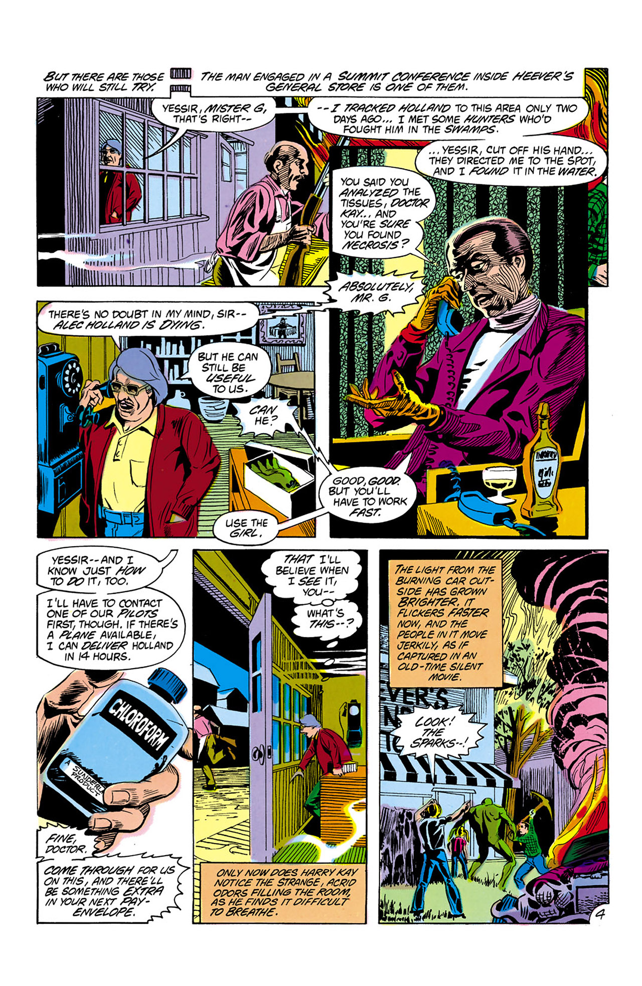 Swamp Thing (1982) Issue #2 #10 - English 5