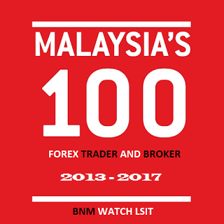 Senarai 100 forex trader dan broker dalam Pemantauan Bank negara Malaysia