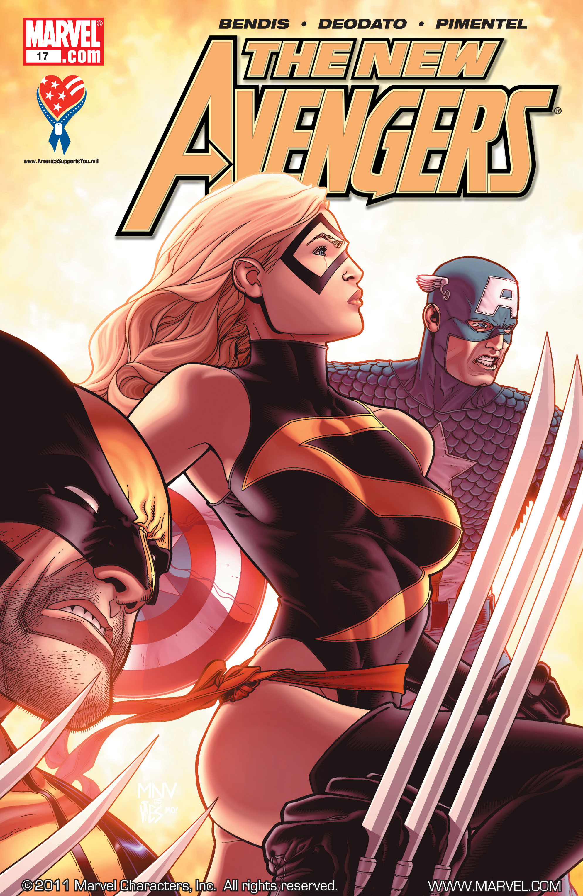 New Avengers (2005) issue 17 - Page 1