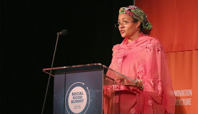 fortune, world's greatest female leaders, women leaders, women of the world, feminism, feminist women, women 2016, nigeria, Amina Mohammed,