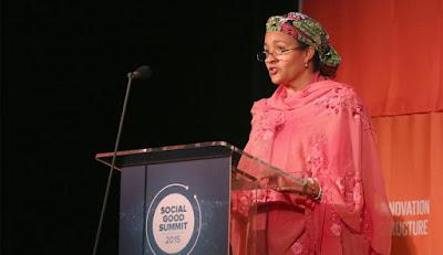 fortune, world's greatest female leaders, women leaders, women of the world, feminism, feminist women, women 2016, nigeria, Amina Mohammed,