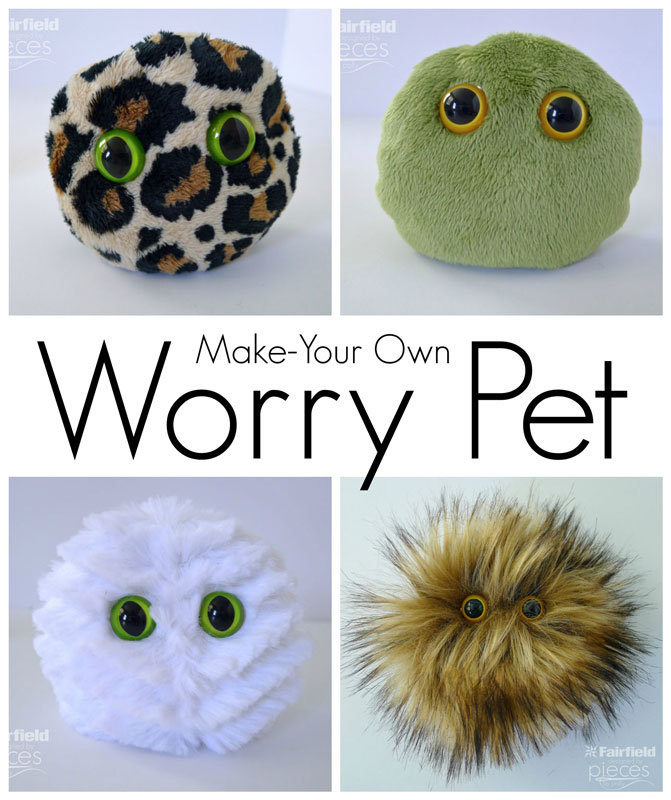 Pieces By Polly Diy Worry Pet Pocket Pet For Kids
