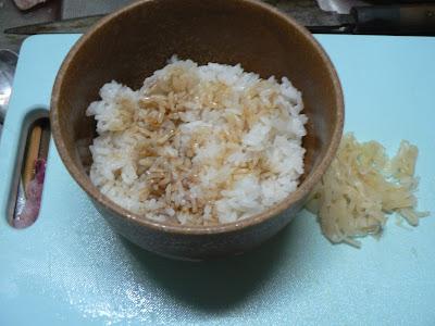 イワシ丼作り方1