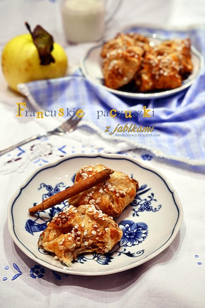 Francuskie paczuszki z jabłkiem