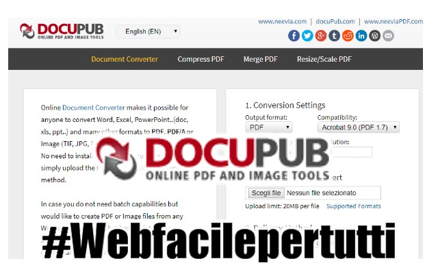 Come Convertire File EML in PDF Online