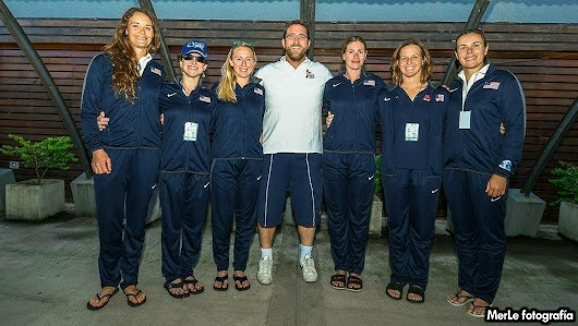 USA Women's National Kayak Polo Team Brings Home Gold!