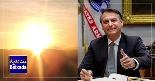 Bolsonaro afirma 'neste ano não teremos horário de verão'