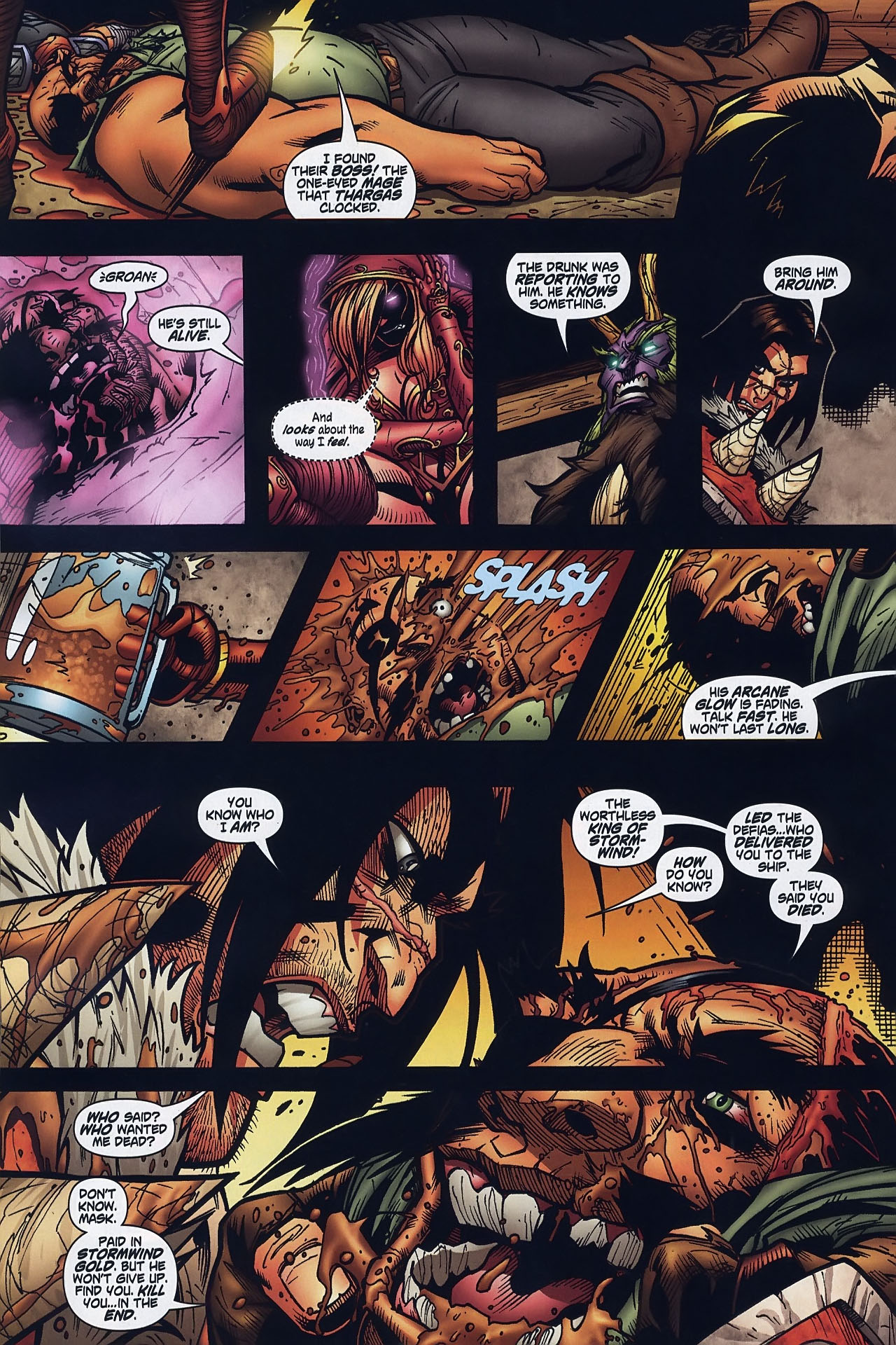 Read online World of Warcraft comic -  Issue #8 - 21