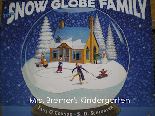 FREE activity pack to go with the book The Snow Globe Family! Perfect for a Kindergarten winter theme.